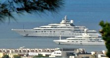 Super yachts at Cannes Film Festival