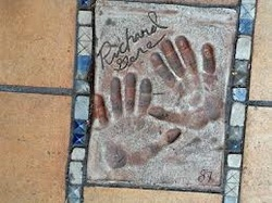 Film Star Hand Prints cannes 2016