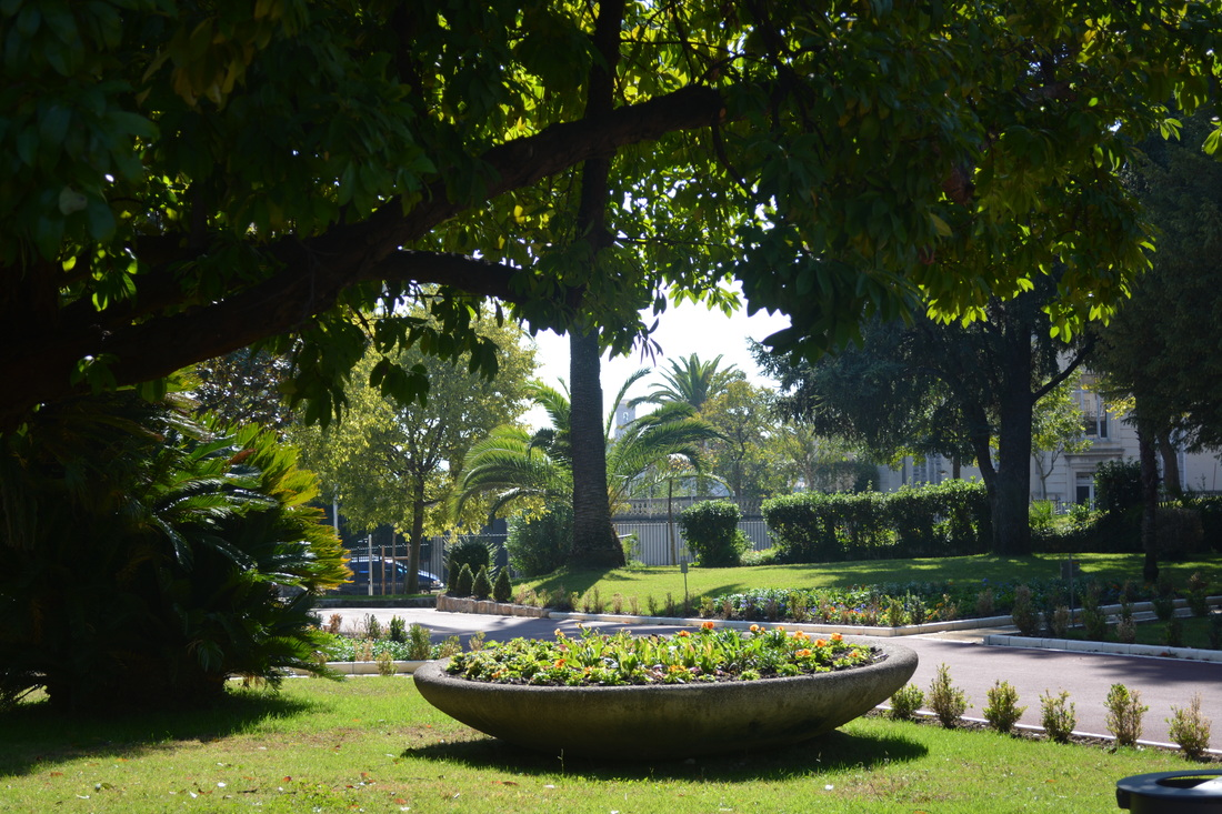 Gardens in Cannes