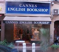 English Book Shops in Cannes